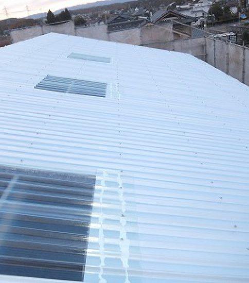 A邸守山 スレート屋根カバー工法